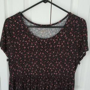 Arizona soft t-shirt dress with empire waist - L